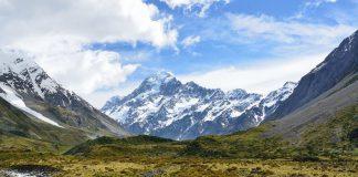 weinig sneeuw in Alpen